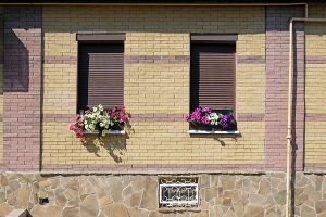 two windows with the best plantation shutters in Sydney