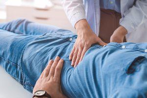 Gastroenterologist in Melbourne checking a patient